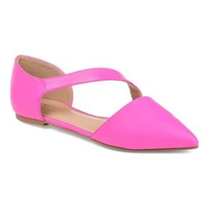 Journee Collection pink flats